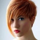Tinte de cabello corto